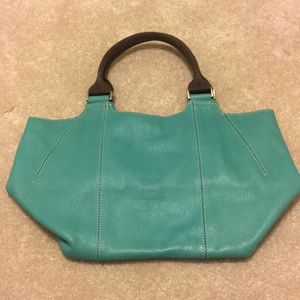 Turquoise Boden Purse